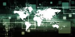 Global Corporation Stock Illustration