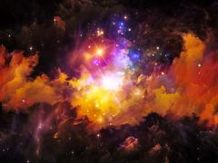 Virtual Nebula Stock Illustration