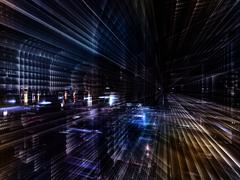 Speed of Technology Stock Illustration