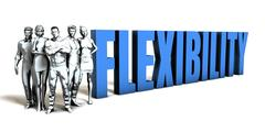Flexibility Business Concept Stock Illustration