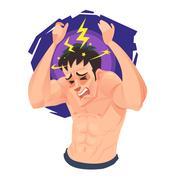 Headache Stock Illustration