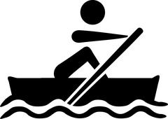 Rowing Paddling icon Piirros