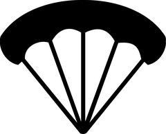 Parachute Icon Piirros