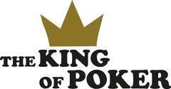 The king of Poker Stock Illustration