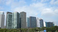 The modern metropolis Stock Photos