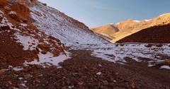 Zegzaoun Trail To Msemrir, Morocco Stock Footage