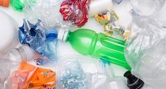 Picture of plastic bottles recycle Stock Photos