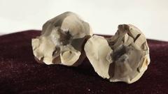 Crystal stone, Tunisia Stock Footage