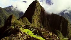 Macchu Picchu Timelapse Stock Footage