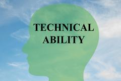 Technical Ability concept Stock Illustration