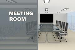 Meeting Room concept Stock Illustration