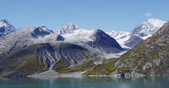 Glacier Bay National Park, Alaska, USA Stock Footage