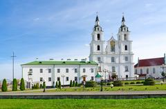 Cathedral of Descent of Holy Ghost, Minsk, Belarus Stock Photos