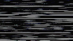 Colored Noise Grunge Saturated Tv Lines Damage Distorted No Signal Stock Footage