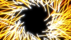Abstract light lines animation Stock Footage