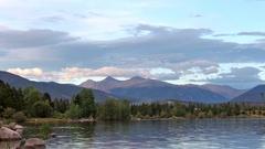 Lake Dillon Colorado Timelapse Stock Footage
