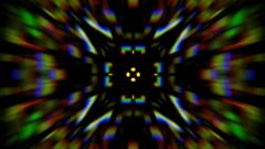 Symmetric psy visual Stock Footage