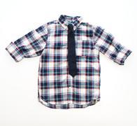 Fashion shirt with neck tie Stock Photos
