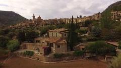 Valldemossa Village Mallorca Spain Stock Footage