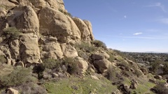 Stoney Point Rising Reveal Stock Footage