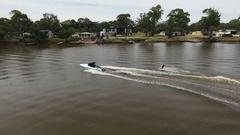 River murray south Australia Stock Footage