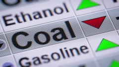 Index of Coal. Down. Looping. Stock Footage