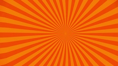 Orange beam background wave effect Stock Footage