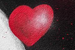 Heart of spray paint Kuvituskuvat