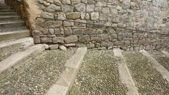 Girona jewish quarter. Stock Footage