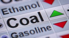 Index of Coal. Up. Looping. Stock Footage