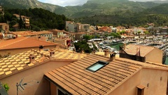 Port de Soller, Mallorca, Balearic Islands, Spain Stock Footage