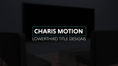 Charis Motion Titles Stock After Effects