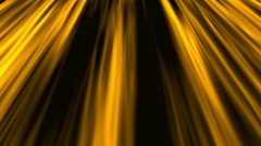 Slow Golden Silk Waves, Rays  -   Abstract Looping Video Footage Stock Footage