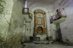 Dilapidated church Stock Photos