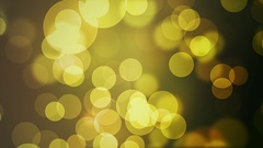Yellow and Brown Bokeh Effect  -   Slow  Video Footage Stock Footage