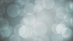 Pale Blue Bokeh Effect  -   Slow  Video Footage Stock Footage
