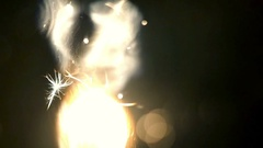 Man ignites a cigarette, macro, slow motion 1 Stock Footage