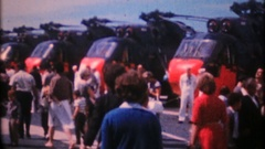 US Navy opens tours to public during Fleet Week, 3917 vintage film home movie Stock Footage