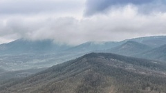 Caucasus Mountains Stock Footage
