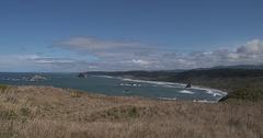 Cape Blanco Oregon Coast Stock Footage