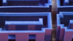 Sata ports on the motherboard, close up Stock Footage