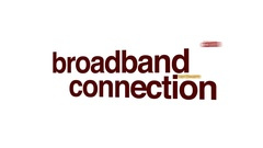 Broadband connection animated word cloud. Stock Footage