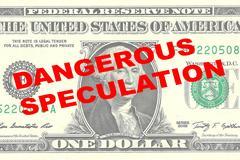Dangerous Speculation concept Stock Illustration