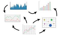 Business analysis concept Stock Illustration