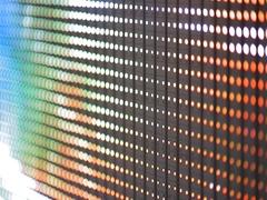 Electronic led panel, close-up Stock Footage