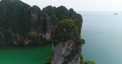 Aerial Footage of Krabi, Thailand Stock Footage