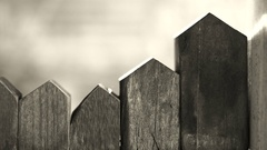 Wood house toy blocks, abstract house and lifestyle Stock Footage