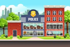 Police Station Piirros