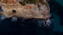 Cala des Moro beach Stock Footage