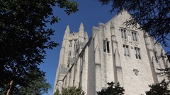 Yale University in New Haven, Connecticut, United States. Stock Footage